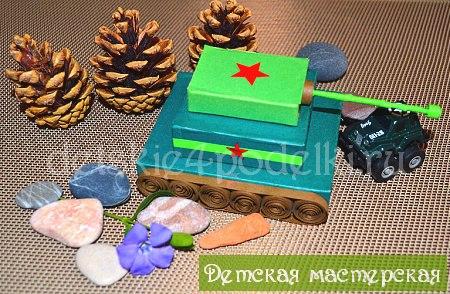 Военная тематика поделки детские